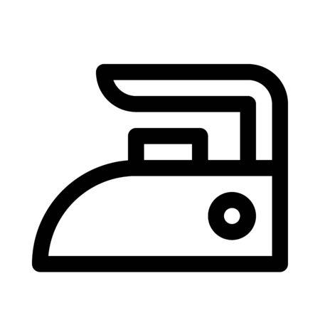 Clothes iron icon Çizim