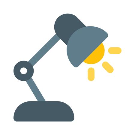 Study lamp icon