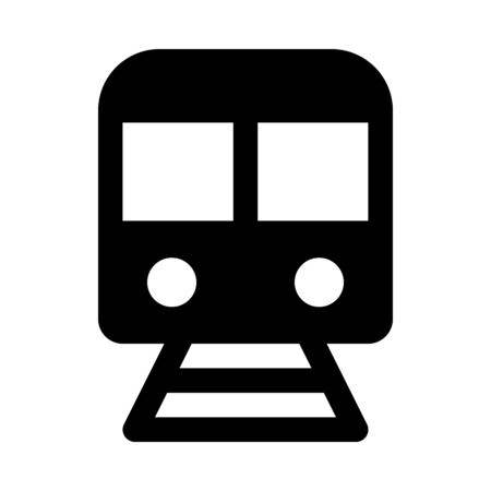Train icon Stock Vector - 89001947