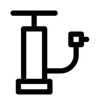 Air pump icon Çizim