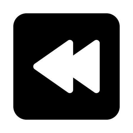Backward button icon