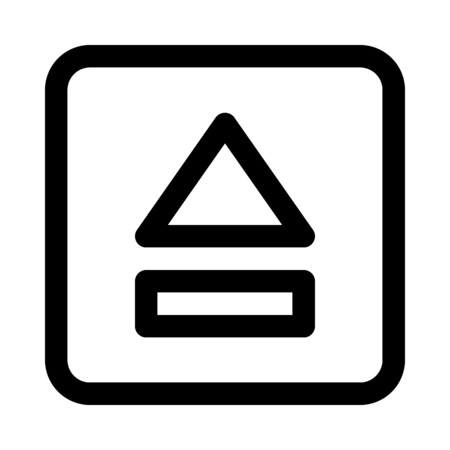 Eject button icon