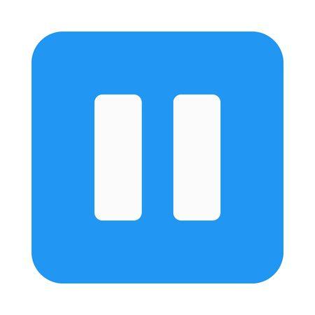 Pause button icon Ilustração