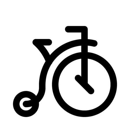 Penny farthing icon