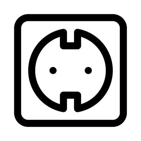 Elektrische aansluiting pictogram