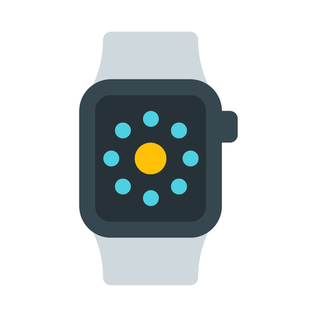 smartwatch with square face