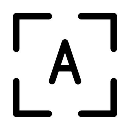 auto focus button