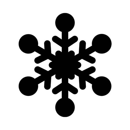 Ice crystal - snowflake