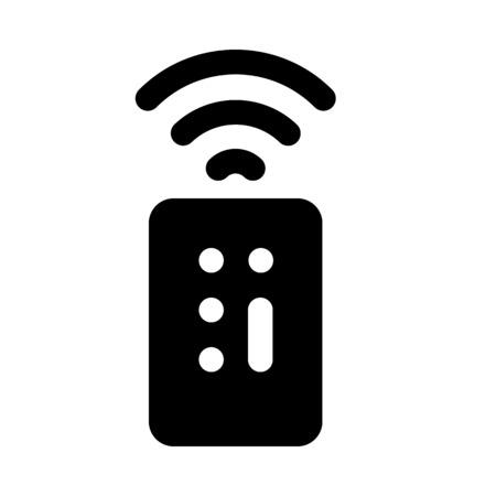 universal devices remote Stock Illustratie