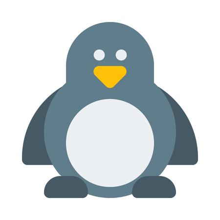 Penguin - Aquatic flightless bird Illustration