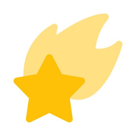 イルミネーション流れ星