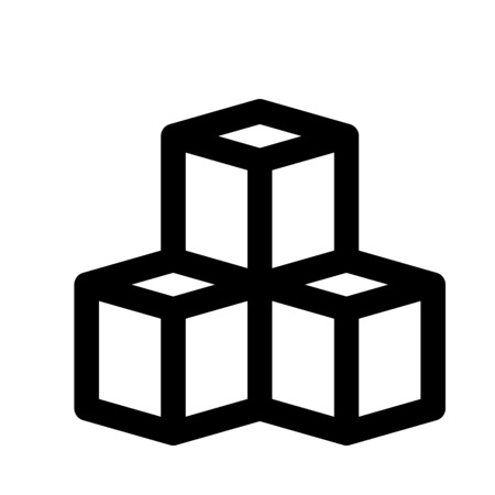 congruent cubes stacked