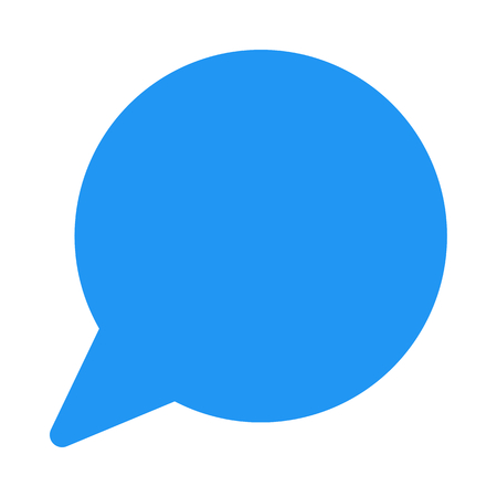 chat speech bubble