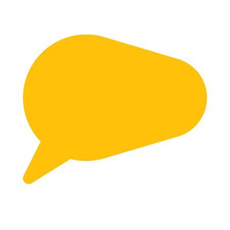 speech bubble notification