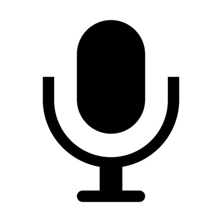 Microphone - Device or peripheral 向量圖像