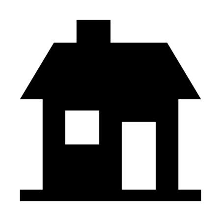 House with chimney  イラスト・ベクター素材