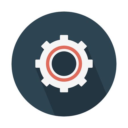 Setting option button Illusztráció