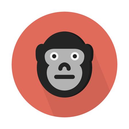 Gorilla, herbivorous apes