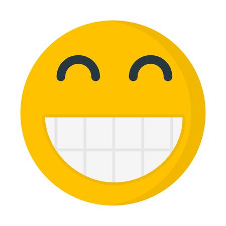grinning emoji Illustration