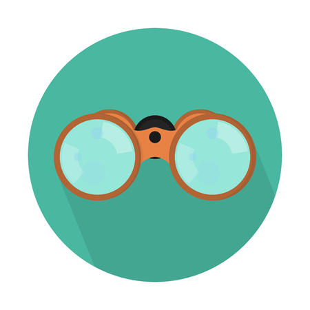 Binoculars or field glasses 일러스트