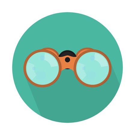 Binoculars or field glasses Vectores