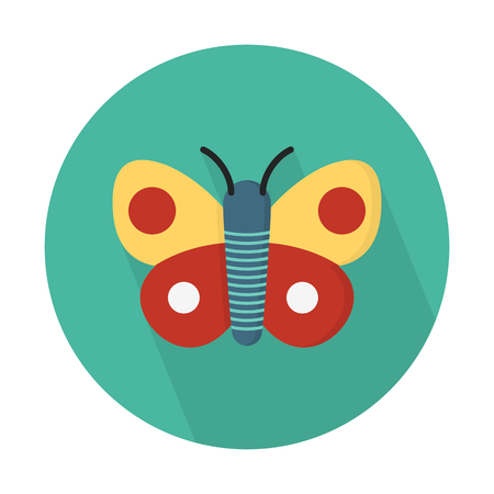 Butterfly, flying insect Illustration