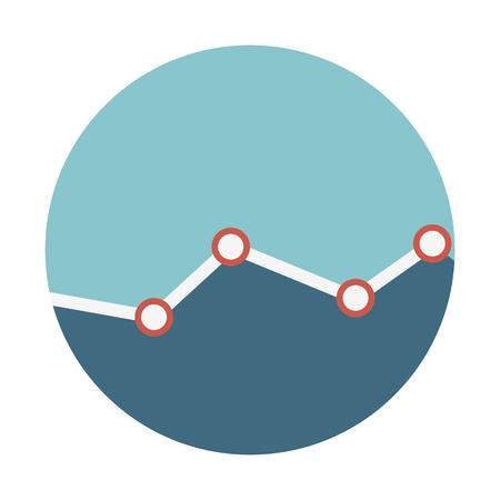 Line chart illustration