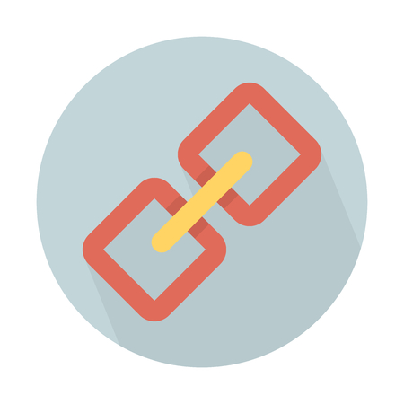 Internet hyperlink symbol Illustration
