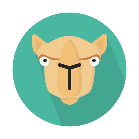 낙타, 겨자 동물 일러스트
