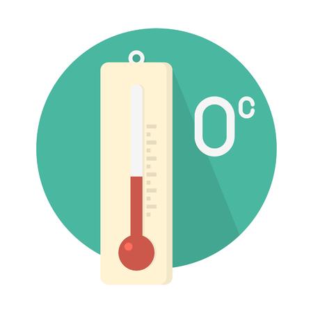 Temperature at zero degree Celsius.