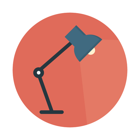 Study desk lamp Ilustrace