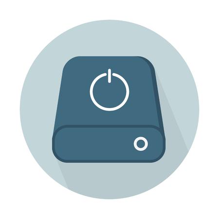 Disk drive power Illustration