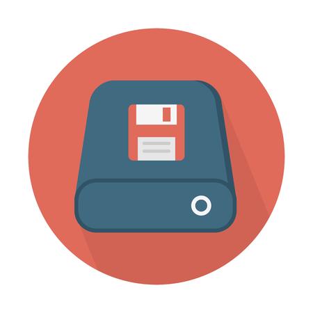 Data storage device Illustration
