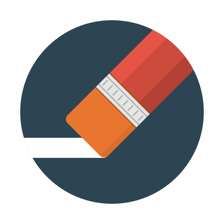 Eraser fournitures scolaires Vecteurs