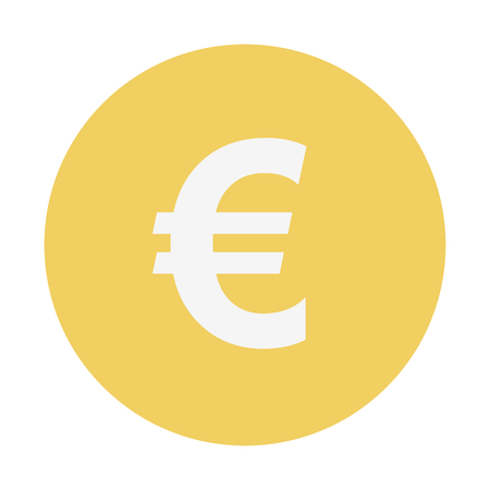 euro currency 矢量图像