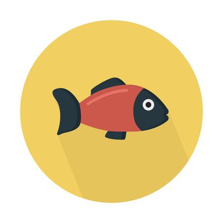 Fish, gill-bearing aquatic animal Illustration