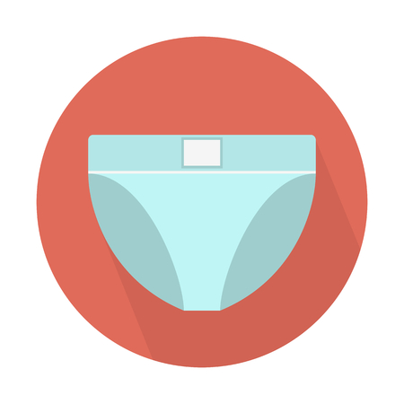 Underpants mens brief Illustration