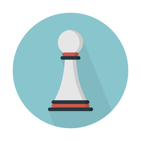 Pawn chess piece Ilustrace