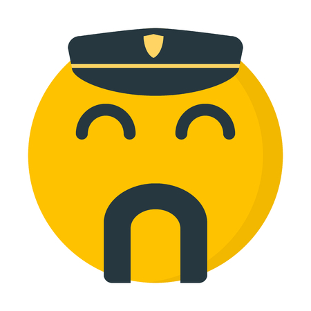 policeman with mustache emoji