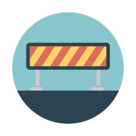 Roadblock barricade safety