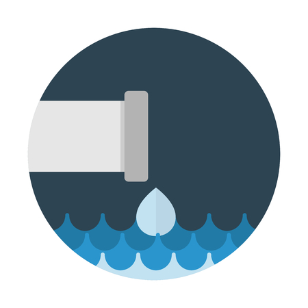 Water waste drainage