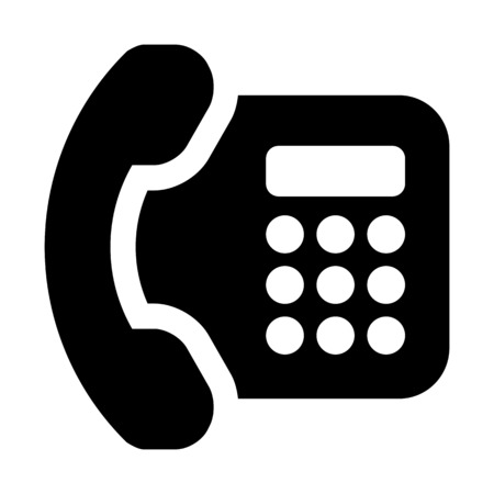 Landline dial phone