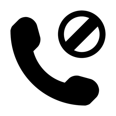 Phone network blocked Stock Vector - 113124440