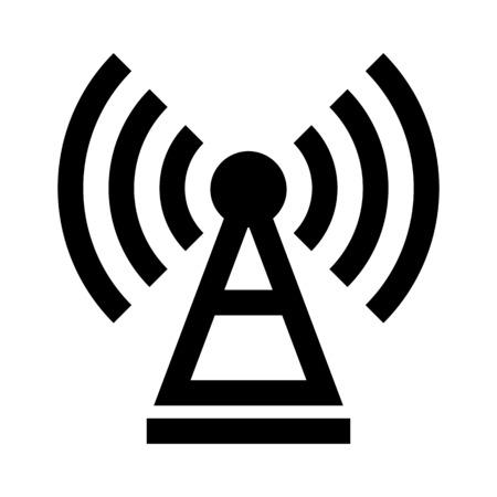 Telecommunication signal receiver Ilustração