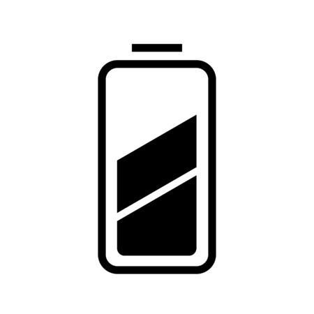 Battery level half