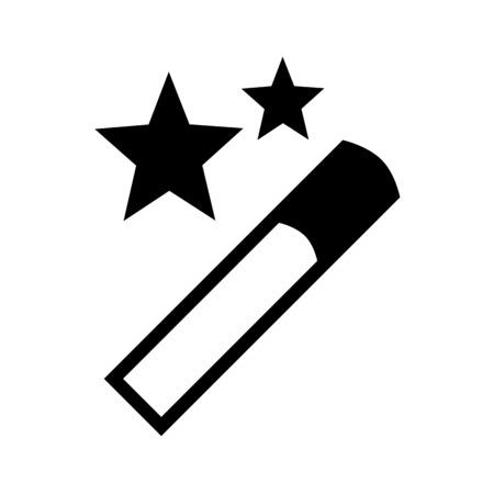 Magic wand filter Stock Illustratie