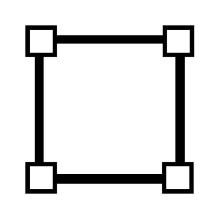 Equal sides square