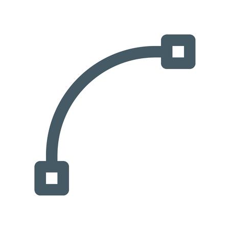 Parametric curve tool Vectores
