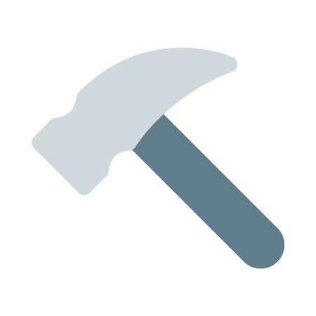 Flat head hammer