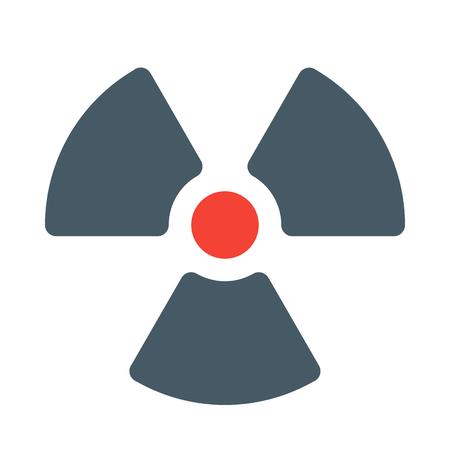 Radiation hazard symbol Stockfoto - 113755355